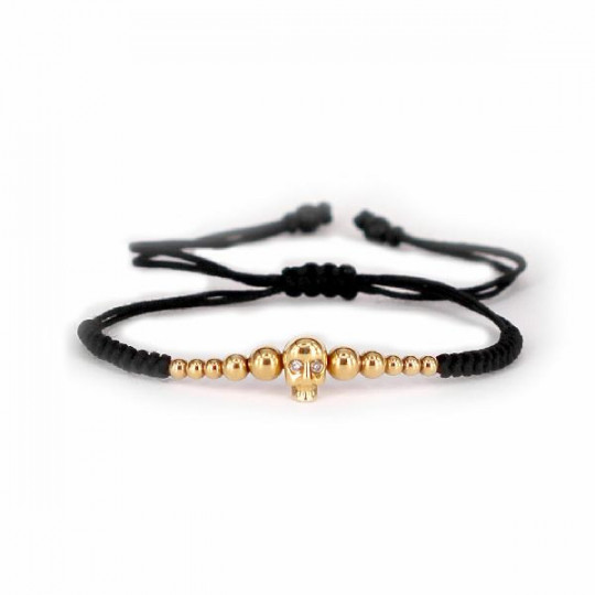 BRACELET SKULL & DIAMONDS