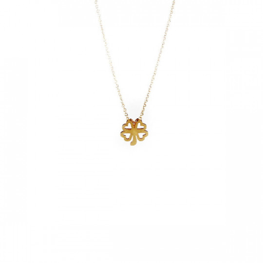 GOLDEN CLOVER NECKLACE
