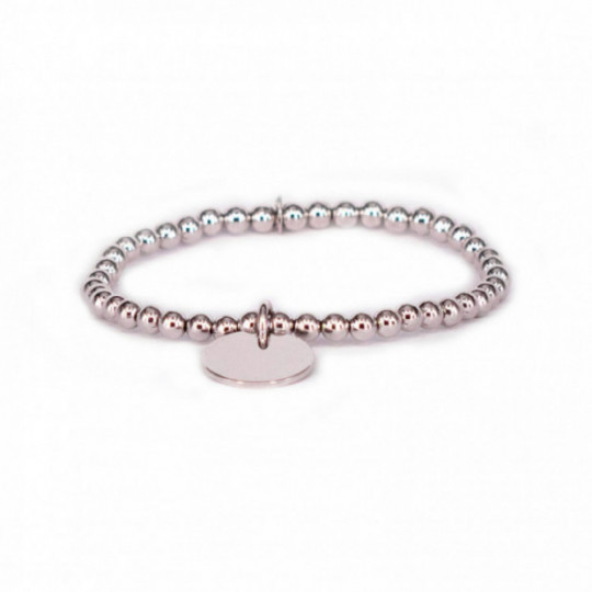 BRACELET SILVER RHODIUM AND PLATE