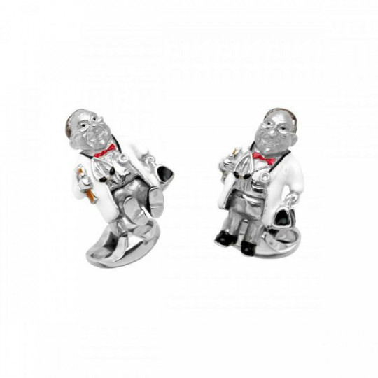 STERLING SILVER DOCTOR CUFFLINKS C1625S21232207