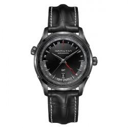JAZZMASTER GMT FULL BLACK LIMITED EDITION H32685731