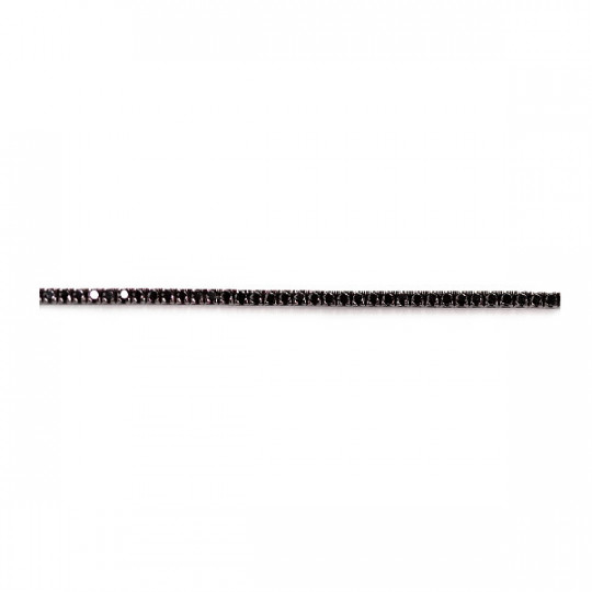 RIVIÈRE BRACELET DIAMONDS BLACK
