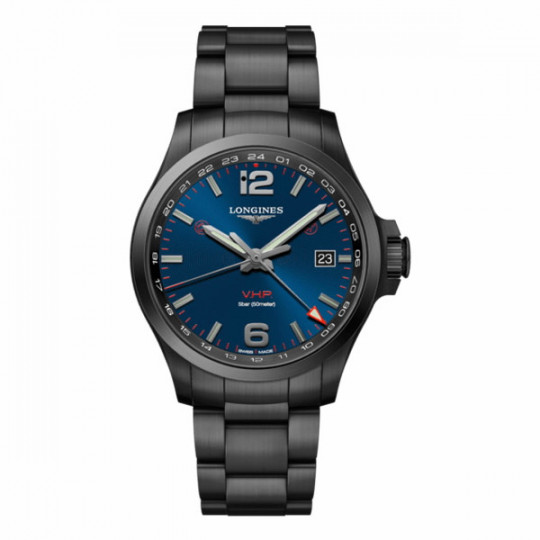 LONGINES CONQUEST V.H.P. GMT 43MM L37282966