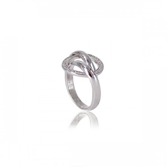RING WITH ZIRCONIA CIRCLES