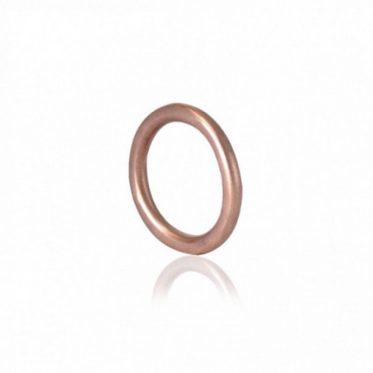 MATTE SILVER WEDDING RING