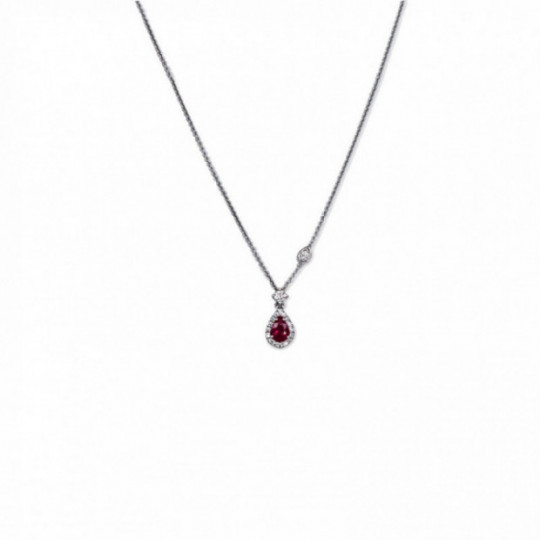 RUBY TEAR CHOKER
