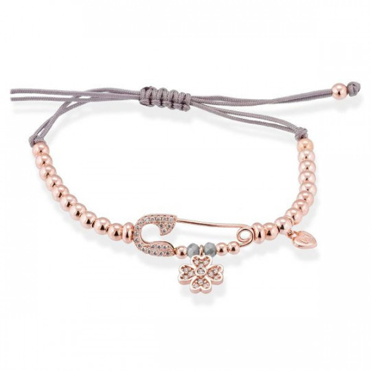 LUCK GREY BRACELET IN SILVER ROSA MARINA GARCÍA 90320US
