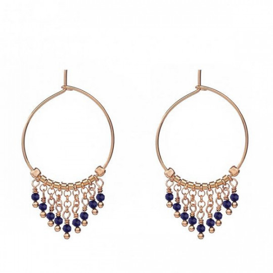 EARRINGS MONTMATRE BLUE AL913