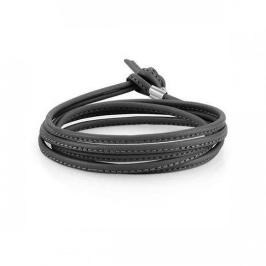 MY BON BONS LIQUORICE LEATHER BRACELET NOMINATION 065089/001