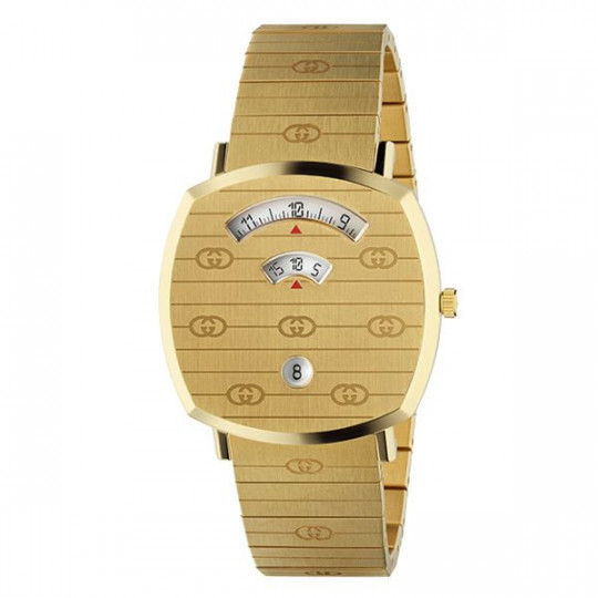 GUCCI GRIP GOLD WATCH YA157409