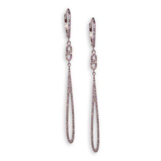 LONG DIAMONDS EARRINGS