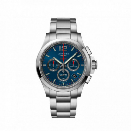 LONGINES CONQUEST V.H.P. 42MM L37174966 BLUE