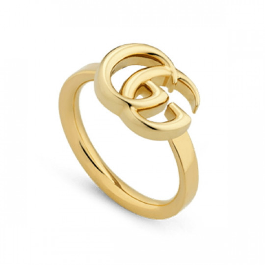 GUCCI GG RUNNING YELLOW GOLD RING 525690 J8500 8000