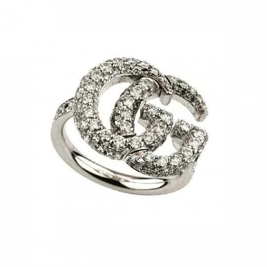 ANILLO GUCCI RUNNING DOBLE GG YBC525696001