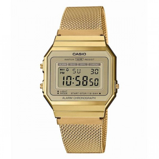 CASIO VINTAGE ICONIC A700WEMG-9AEF WATCH