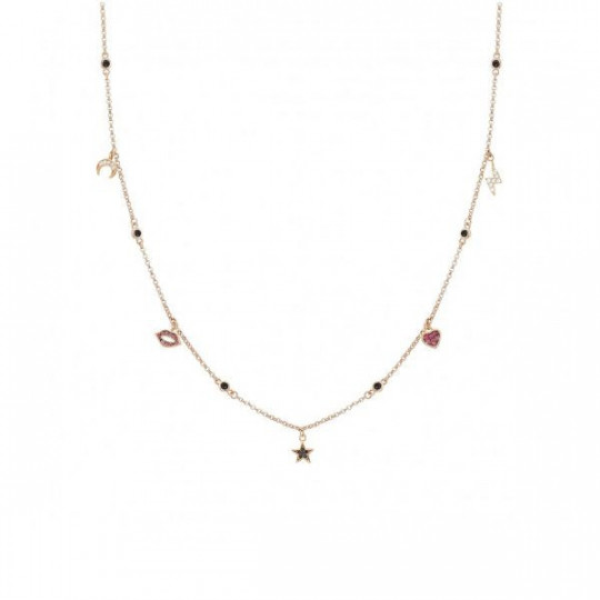 COLLAR SWEETROCK CON COLGANTES NOMINATION 148013-39