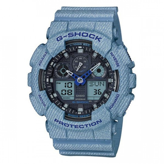 CASIO G-SHOCK WATCH GA-100DE-2AER