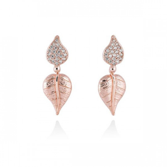 EARRINGS LEAVES MARINA GARCIA