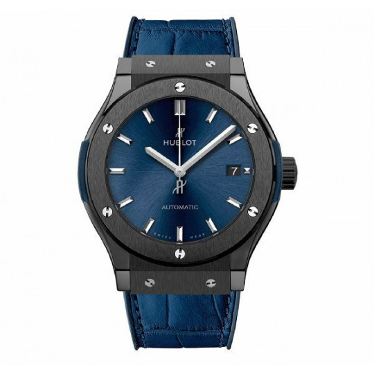 HUBLOT CLASSIC FUSION CERAMIC BLUE 45 MM H511.CM.7170.LR
