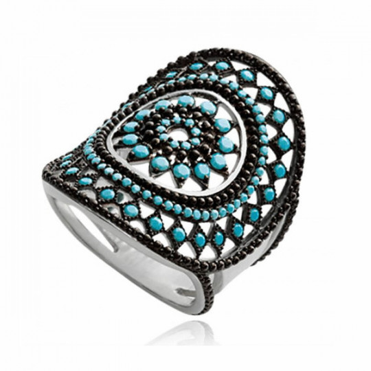 AIGNÉIS TURQUOISE RING 1237230