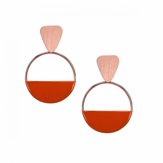 ESSENTIAL ORIT032 MARCELLO PANE EARRINGS