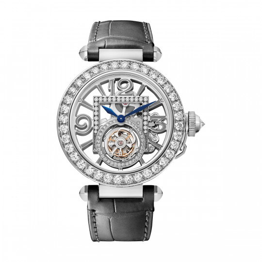 RELOJ PASHA DE CARTIER HPI01435 41 MM,ORO BLANCO, DIAMANTES