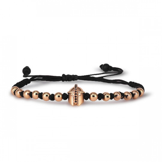 BRACELET ROSE GOLD & BLACK DIAMONDS