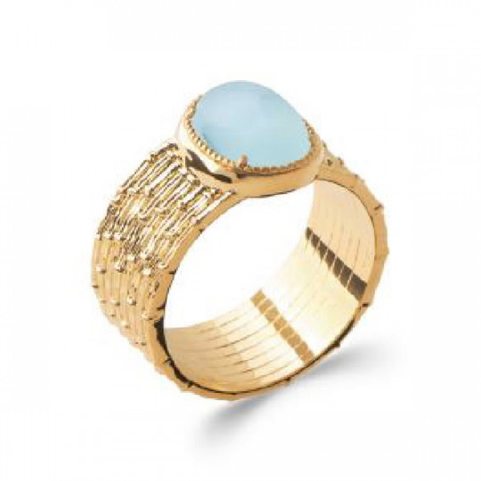 BLUE AGATE RING 2284660