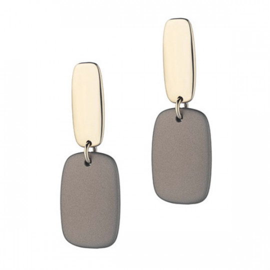 RUBBER GOLD ORAR EARRINGS113