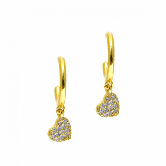 HEART EARRINGS 55999