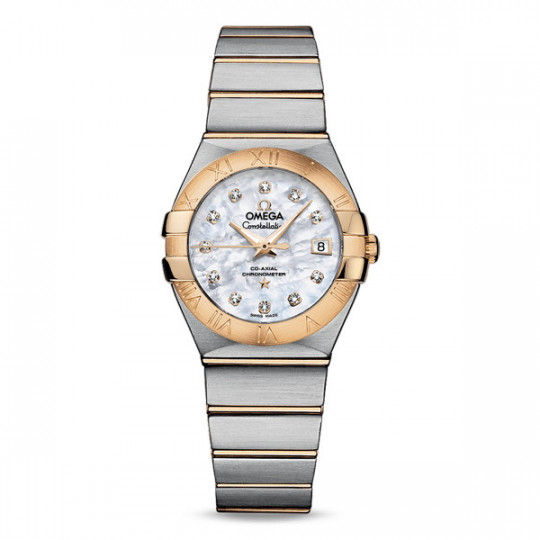OMEGA CONSTELLATION CO-AXIAL 27 MM 123.20.27.20.55.003