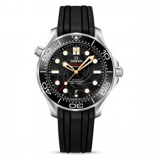 "SEAMASTER DIVER 300M OMEGA CO‑AXIAL MASTER CHRONOMETER 42 MM 210.22.42.20.01.004 ""James Bond"" Edición Limitada"