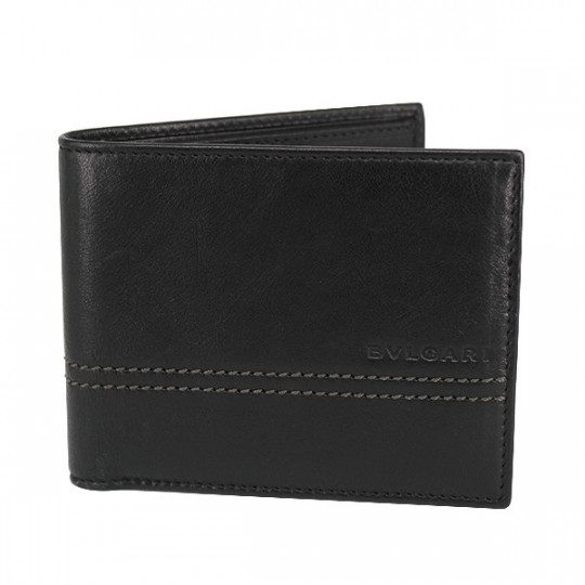 BVLGARI MEN'S LEATHER WALLET 32843