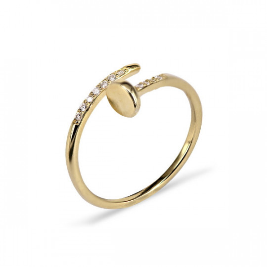 GOLDEN NAIL RING