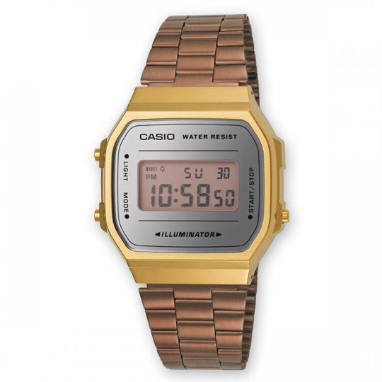 CASIO VINTAGE ICONIC WATCH A168WECM-5EF