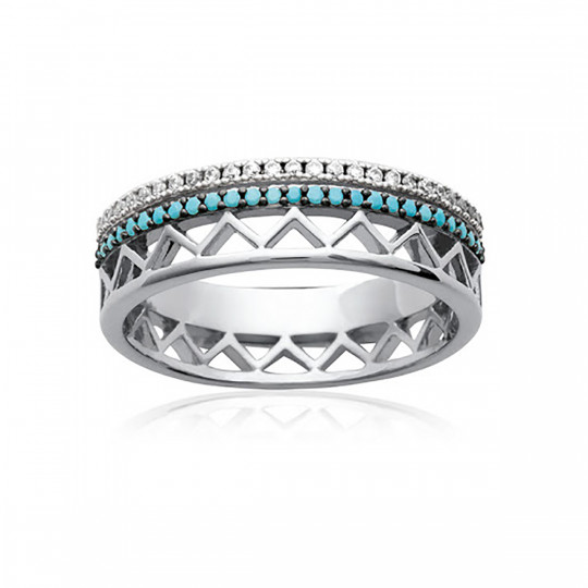 RING AGOSTINA TURQUOISE 1239430