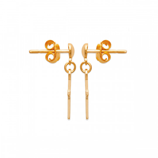 MINI CROSS EARRINGS 231426 BIJOUX