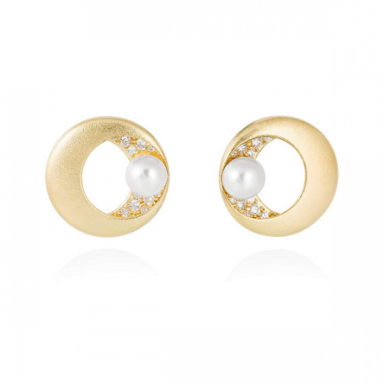 SAKAY PEARL EARRINGS 90603PD