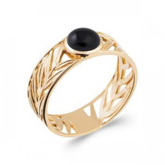 BLACK AGATE RING 2287207