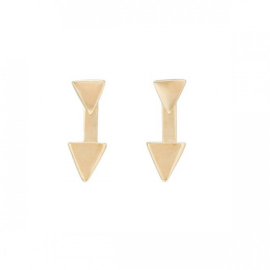 UPSIDE DOWN EARRINGS PEN0710ORO0000U RENAISSANCE
