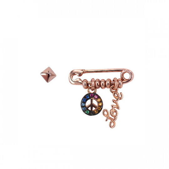 PENDIENTES RUE DES MILLE PEACE AND LOVE ORZ-SPILLA C6
