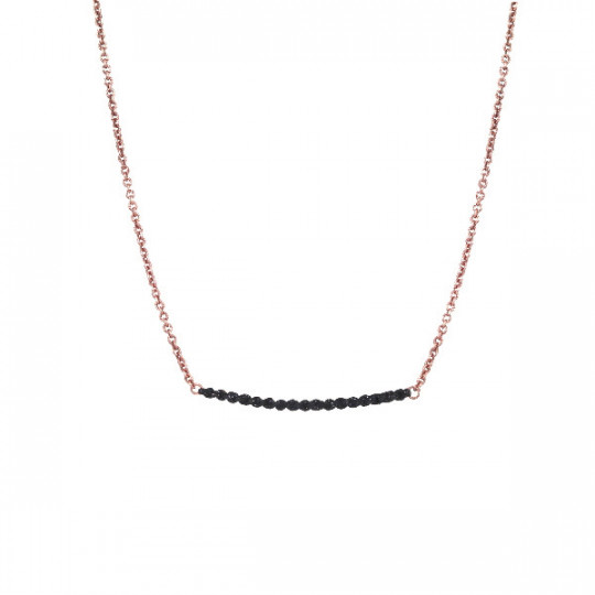 NECKLACE POLVERE NERO WPLVG130