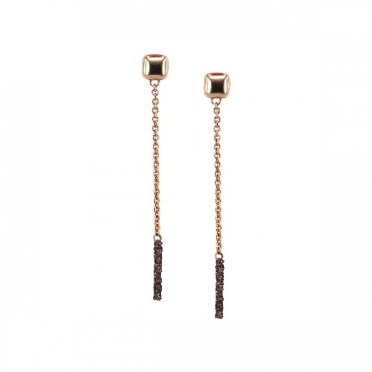 EARRINGS POLVERE BRONZO WPLVO962