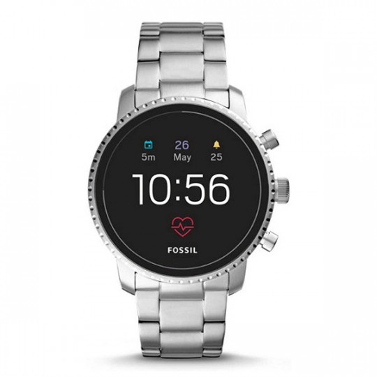 WATCH FTW4011 FOSSIL SMARTWATCH - Q EXPLORIST HR STAINLESS STEEL