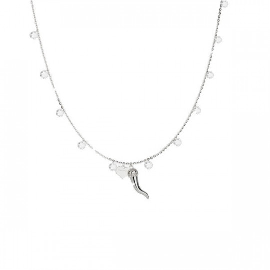 925 STERLING SILVER FIREFLY NECKLACE WITH LUCKY CHARM