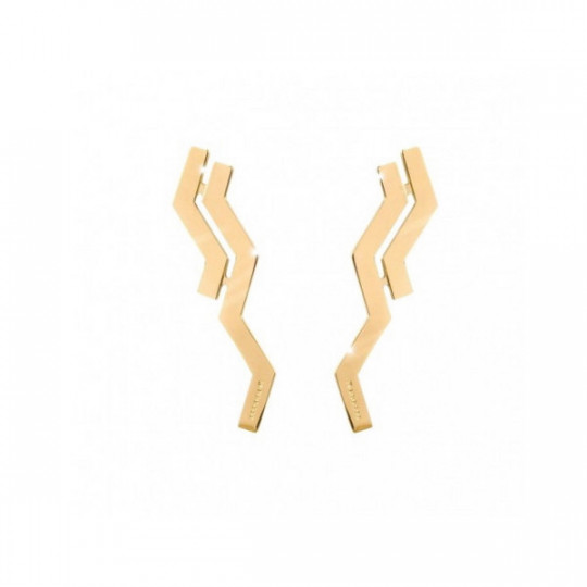 GOLD SKYLINE EARRINGS