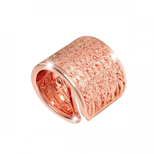 R-ZERO COLLECTION RING IN PINK BRONZE