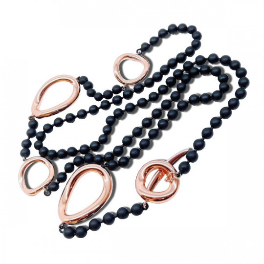 LONG NECKLACE RUBBER