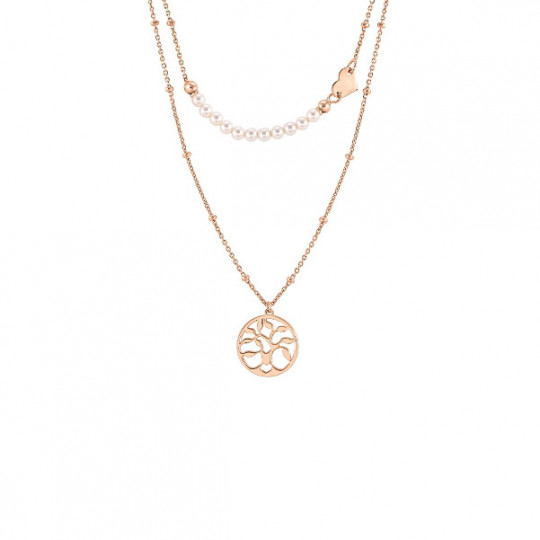 NECKLACE TREE OF LIFE AND PEARLS 147716 063