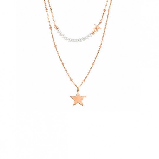 NECKLACE MELODIE STARS AND PEARLS 147716 033